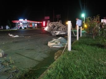 Niksar'da trafik kazası: 1 ölü, 5 yaralı