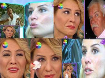 Esra Erol, canlı yayında gözyaşlarına boğuldu