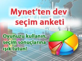 Mynet'ten dev seçim anketi!
