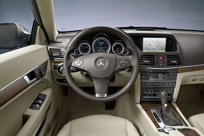 Mercedes E Serisi Coupe Mercedes-e-class-coupe-12
