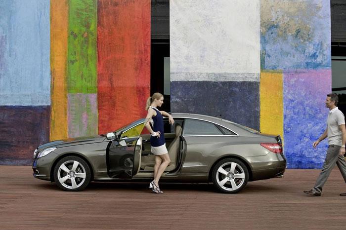 Mercedes E Serisi Coupe Mercedes-e-class-coupe-7
